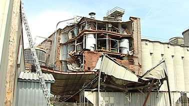 Statesville flour mill explosion