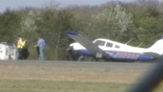 Smith Reynolds crash landing