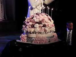 Beautiful birthday cake!