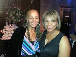 Wanda and former Essence editor Susan Taylor