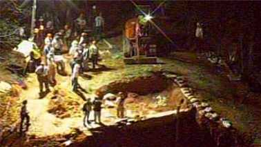 Lincoln County pit collapse