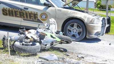 Virginia motorcycle crash