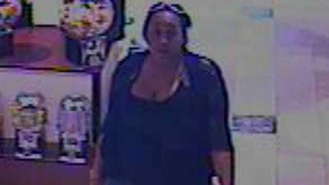 Surveillance image (Greensboro/Guilford County Crimestoppers)