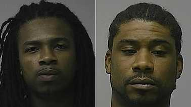 Jovon Clarke, left, and Charles Pierce, right (Greensboro police)