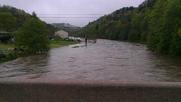 The next few photos are from the areas of South Fork New River in Watauga and Ashe counties.