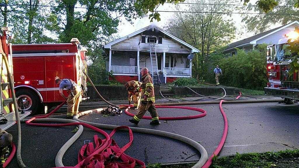 Greensboro Haywood Street House Fire