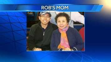 WXII 12 Reporter Rob's mom.