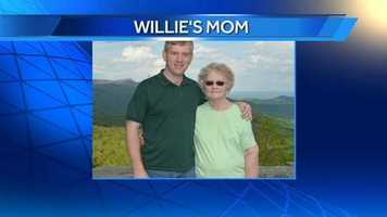 WXII 12 photographer Willie's mom.