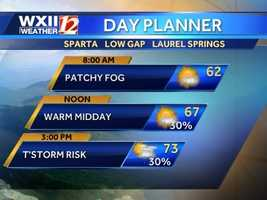 Mountains day planner