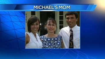 WXII 12's Producer Michael and his mom.