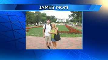 WXII 12's Production Assistant Jeff and his mom.
