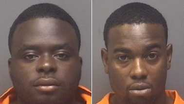 Antonio Campbell, left, and Yuri Monroe, right (High Point police)