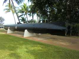 The USS Bowfin Submarine Museum also has this Kaiten torpedo.