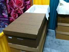 Briggs said there is a wide range of differences in caskets and materials that caskets are made from, from fiberboard to solid bronze. So ask questions.