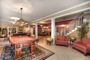 Game Room with Billiard Area