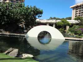 Here were some great architectural designs to look at while swimming, walking and enjoying some quiet time in Maui.