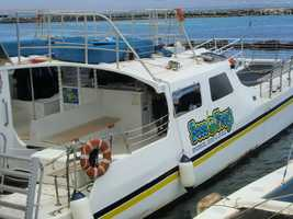 Boss Frog's Dive, Surf and Bike shop gave the Holiday Vacations tour group from the Triad a fun day out on the ocean.