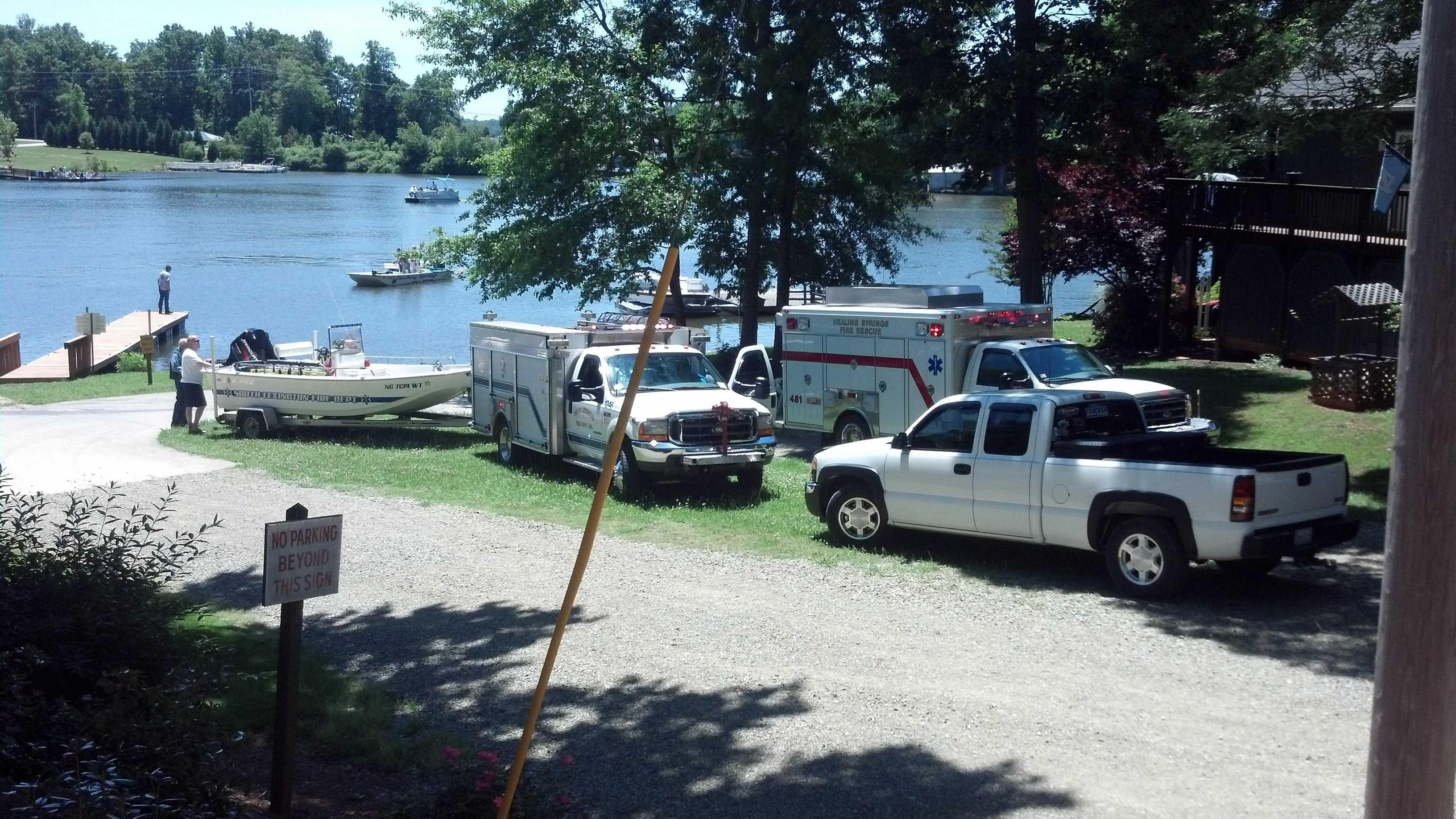 High Rock Lake crash