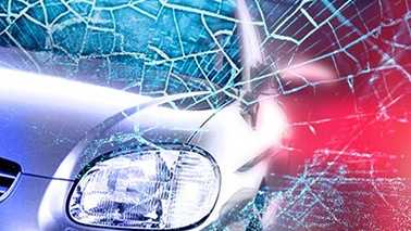 Car crash wreck accident generic