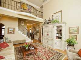 Open Two-Story Family Room