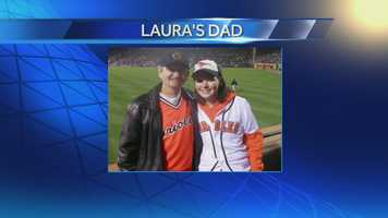 Producer Laura with her Dad.