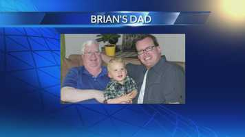 Brian with his Dad and son.
