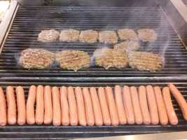 And the hot dogs and burgers rank among the best I have tasted.