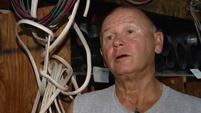 WXII interviewed Steve Hall last Tuesday, six days before deputies say he shot and killed a suspected copper thief.