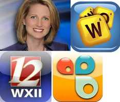 Michelle's Favorite apps: Words with friends:  Everyone's favorite word game! Play on Facebook, iOS, Android and Kindle Fire.Cozi: Manage your jam-packed life and keep the whole family in the loop.WXII: Carry WXII 12 with you wherever you go and connect to local news.