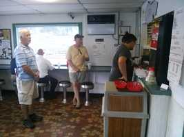 Although there is always a line to order, they take care of their customers quickly. And the regulars don't mind at all.