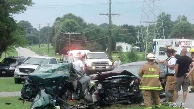 Tyro Road head-on crash