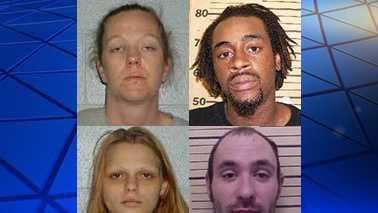 Jennifer Fain, Theophilus Hicks Jr., Mary Pittman and Gray Spaugh
