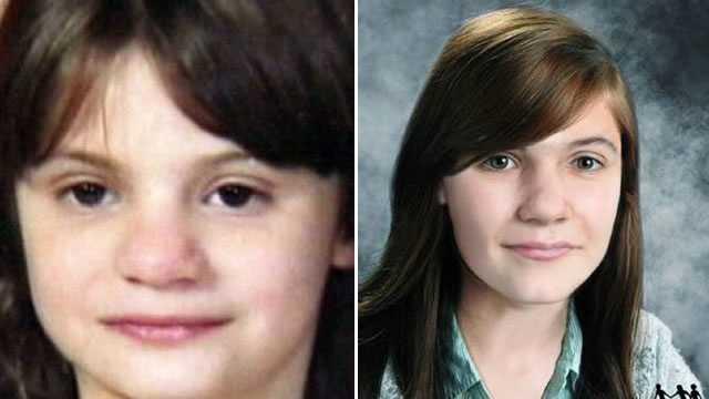 Erica Parsons age progression