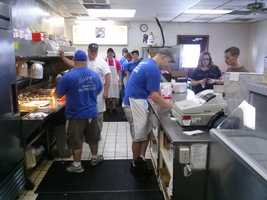 A great staff that cooks up some of the Piedmont's best burgers and dogs.