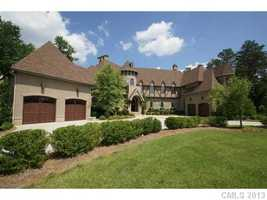 This French inspired Manor House is located in Mooresville and priced at $3,470,000.