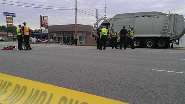 Fatal moped crash in Greensboro