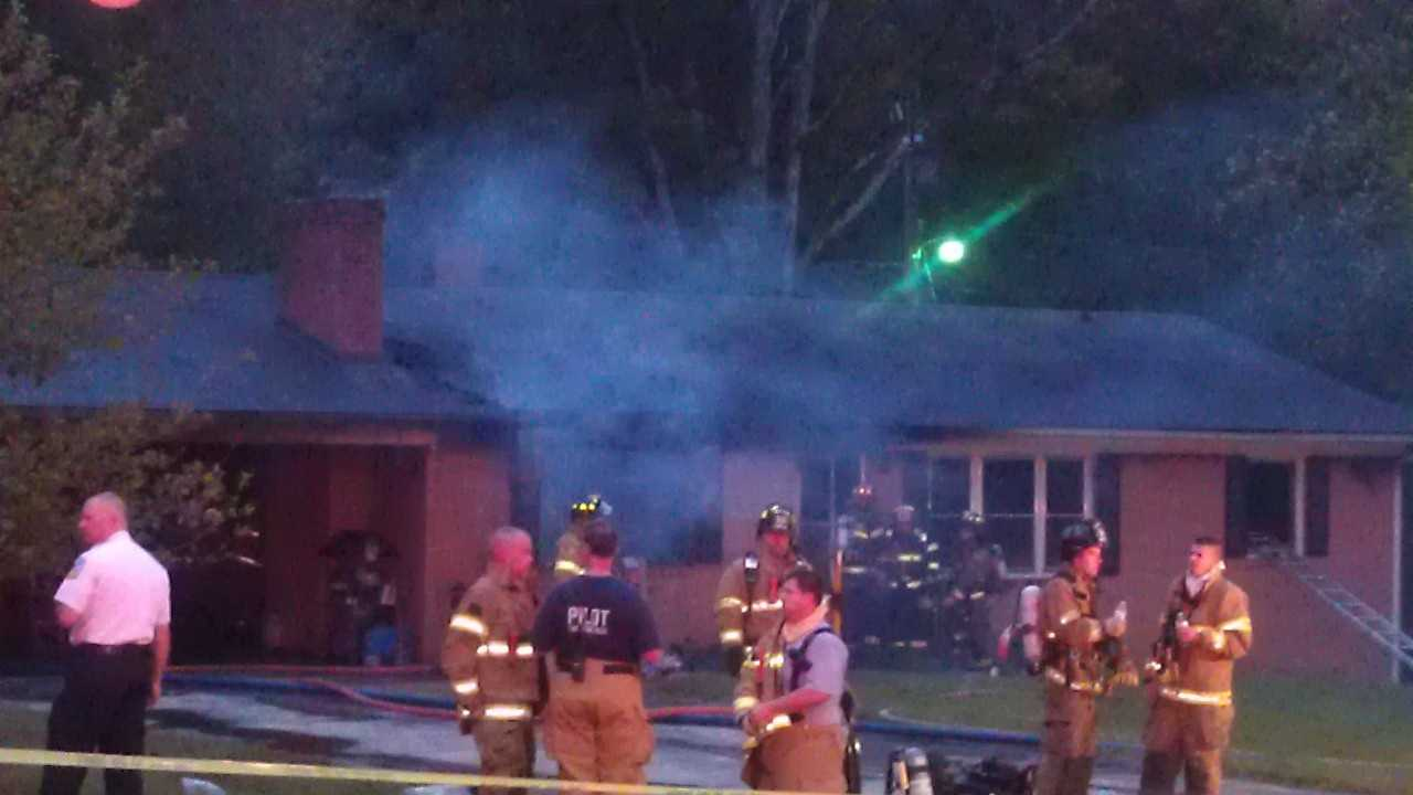 Deadly house fire in Davidson County