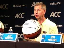 Wake Forest coach Jeff Bzdelik
