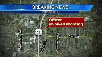 Two officers are on administrative leave after two men suffered gunshot wounds early Friday morning, Winston-Salem police said. The incident began around 12:30 a.m. in the 1600 block of North Liberty Street.