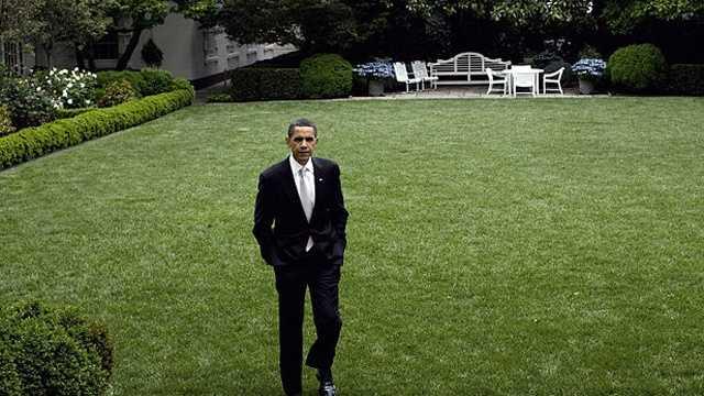 Barack Obama White House Rose Garden