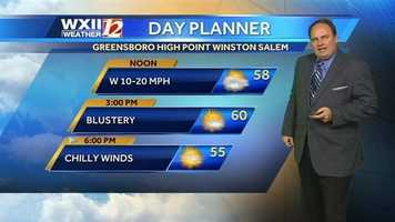First up, let's check the Wednesday day planner.