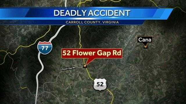 Virginia accident map