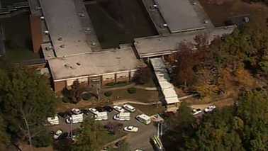 Hickory Career & Arts Magnet school odor evacution