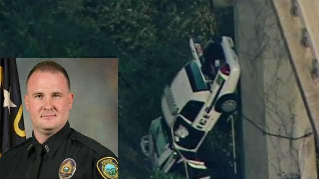 Robert Bingaman: Asheville police officer dead after car plunges off bridge