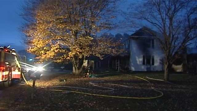 Surry County house fire