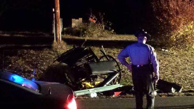 Wilkes County buggy crash