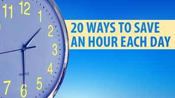 Let's face it -- we're all busy! And we're always looking for ways to save a little time. WXII's Michelle Kennedy helped us put together these 20 tips.