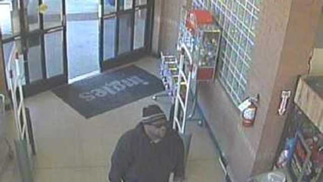 Surveillance image of Ingles Market armed robbery suspect