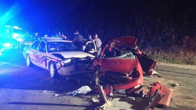 Deputy injured in Henry County crash