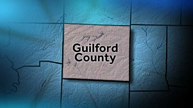 Guilford County map